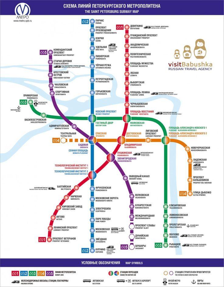 City map   AJ Tours LLC   Russia travel   St Petersburg tours