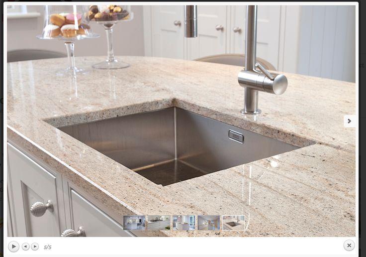 Ivory Fantasy Granite Worktop Kitchen Plan Pinterest