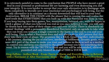 When you have a relationship with a Narcissist you will ALWAYS be admonished, silenced, punished and BLAMED.