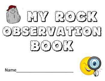 Rock Observations Book- length & weight in metrics & engli