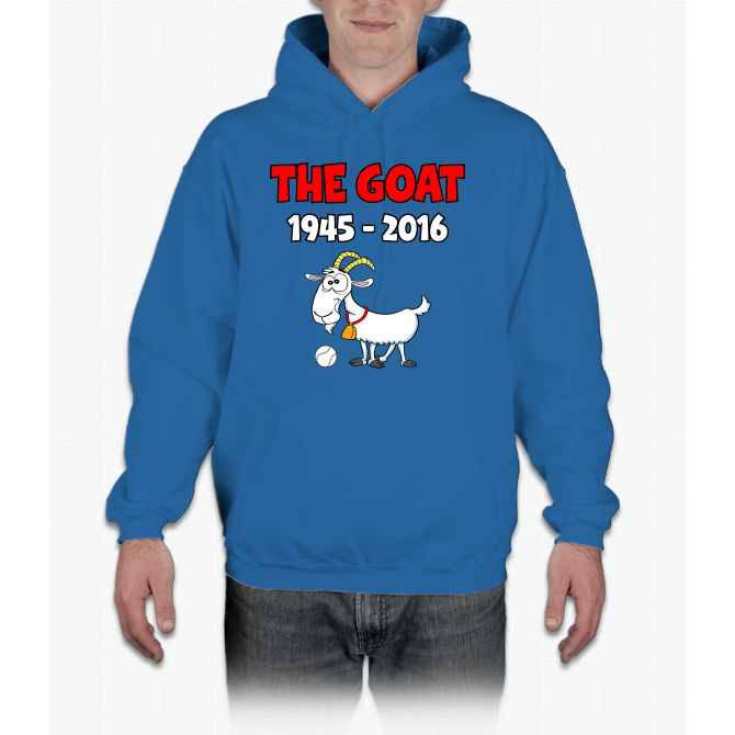 The Chicago Baseball Goat Curse chicago cubs Hoodie