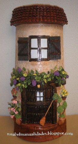 http://rosabelmanualidades.blogspot.de/search/label/Tejas decoradas