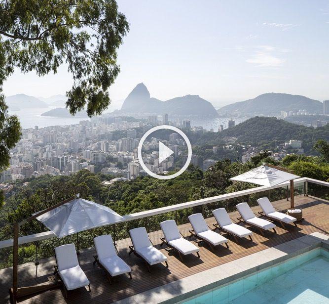 Vila Santa Teresa - Luxury Boutique Hotel Rio de Janeiro - Guanabara Bay View
