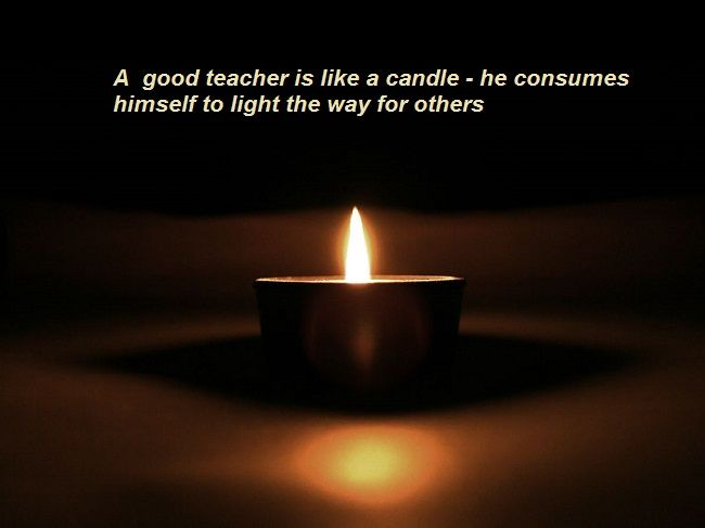 A good teacher is like a candle - he consumes himself to light the way for  sc 1 st  Pinterest & 21 best Great Quotes images on Pinterest | Martial arts Great ... azcodes.com