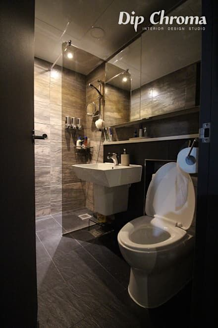 화장실 인테리어 디자인 & 아이디어  화장실, 욕실 및 목욕