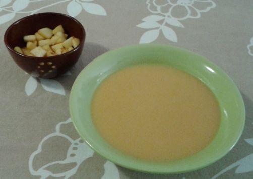 Crema de calabaza y manzana para #Mycook http://www.mycook.es/receta/crema-de-calabaza-y-manzana-2/
