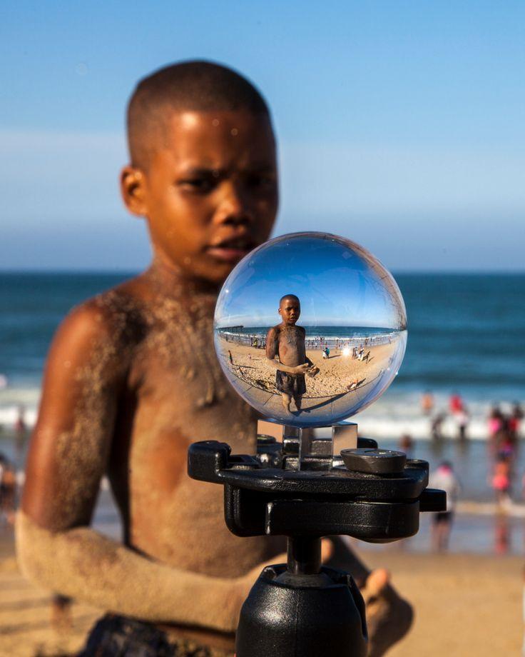 Boy in a bubble Port Elizabeth
