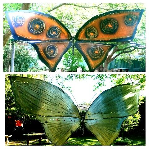 My large Butterflies