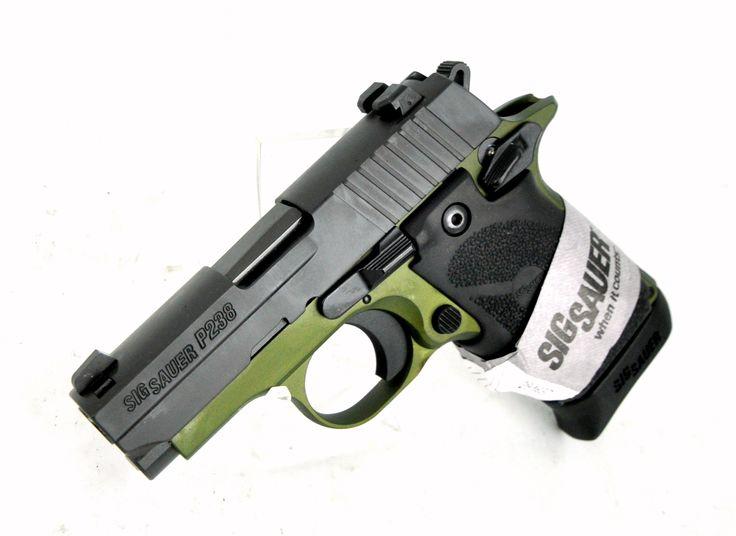 Sig Sauer P238 TALO Army Green .380 ACP #CCW [New in Box] $599.99   MMP Guns
