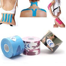 5 pieces 5mx5cm Kinesiology Tape,Sports Safety Tape Bandage Strain Injury Support,Waterproof Elastic Physio Kinesio patch //Price: $US $17.69 & FREE Shipping //