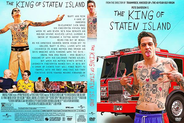 The King Of Staten Island 2020 Dvd Cover In 2020 Dvd Covers Staten Island Movie Blog