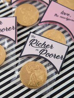 Wedding Shower Party Favors | Wedding Gifts For The Guests On The Tables | Unusu…