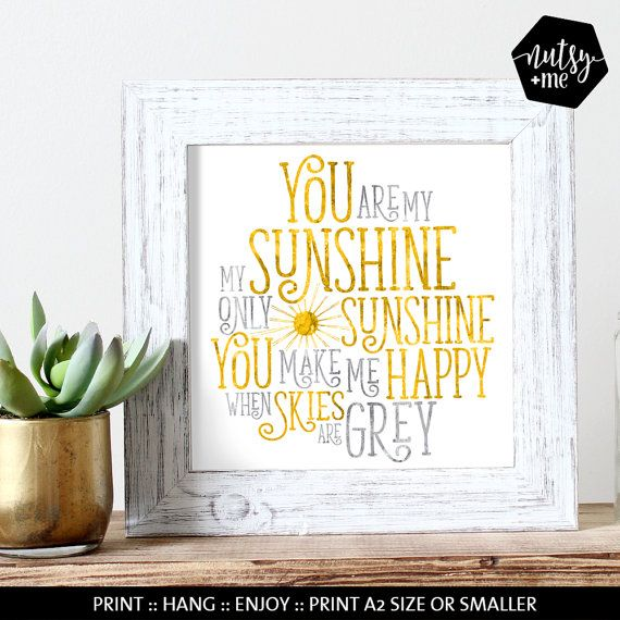 Nursery Rhyme Wall Art Quotes