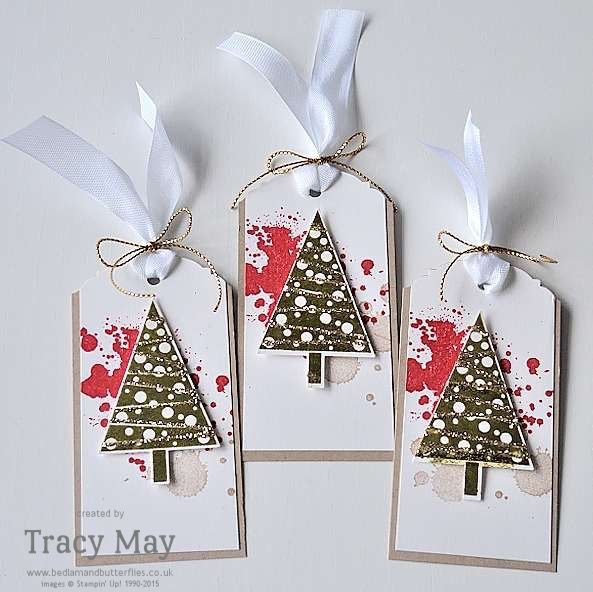 Stampin' Up! Christmas Tags Tracy May UK Demonstrator
