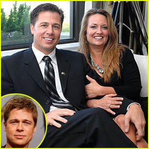 Doug Pitt Named Goodwill Ambassador Of Tanzania - His older brother, actor Brad Pitt, was supposed to attend the tribute dinner but he was grounded due to the volcanic ash from Iceland's Eyjafjallajokull volcano. Doug's wife Lisa Pitt was in attendance.