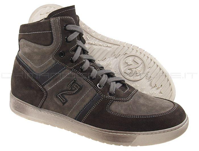 Nero Giardini sneakers alta con zip #2262