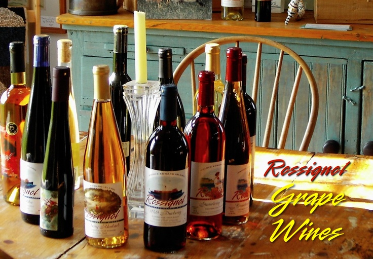 Rossignol Estate #Wines from Prince Edward Island make a superb gift for your wine-loving friends! http://peiflavours.ca/index.php/flavours-trail/listing/Rossignol-Estate-Winery2/
