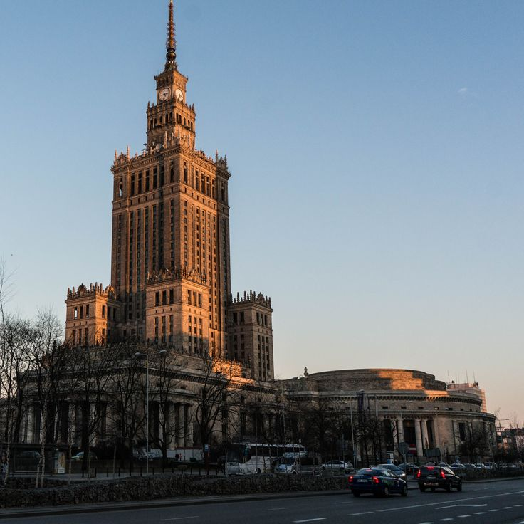 Palace of Culture and Science again. 1x1