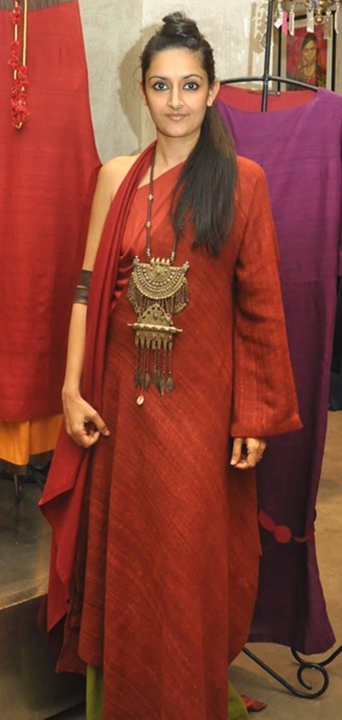 Fashion designer Payal Khandwala