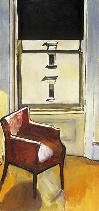 """Alice Neel, """"Loneliness"""" 1970 Alice Neel (January 28, 1900 – October 13, 1984) was an American artist known for her oil on canvas portraits of friends, family, lovers, poets, artists and strangers. Her paintings are notable for their expressionistic use of line and color, psychological acumen, and emotional intensity."""