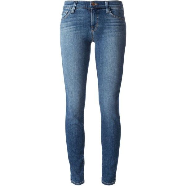 J Brand Skinny Jeans (2 490 SEK) ❤ liked on Polyvore featuring jeans, pants, bottoms, pantalones, blue, skinny jeans, skinny leg jeans, j brand jeans, blue jeans and j-brand skinny jeans