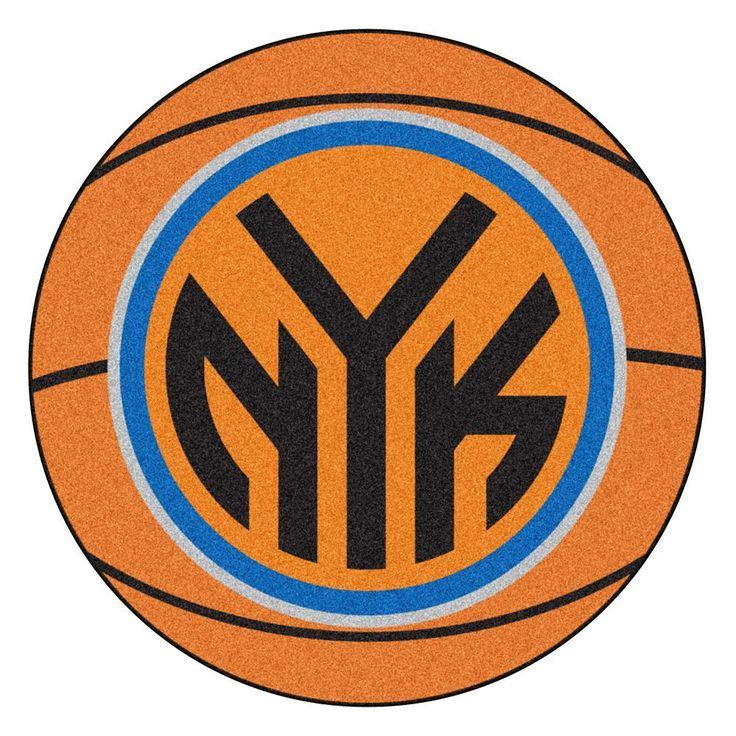 Fanmats New York Knicks Basketball Rug, Multicolor