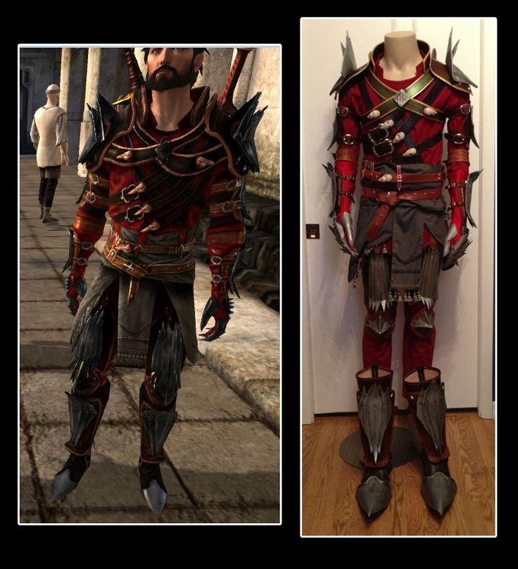 Dragon Age 2 Hawke Champion Rogue Armor Cosplay by ~senorwong on deviantART