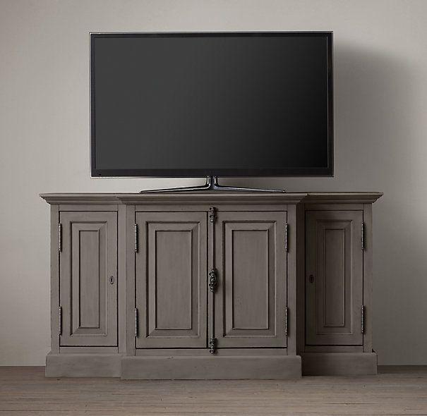 Restoration hardware media cabinet living room re do - Restoration hardware cabinets ...