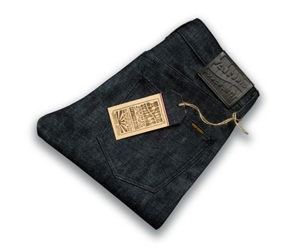 ANDE WHALL - Cobra 14.5oz raw selvage denim. Made in New Zealand.