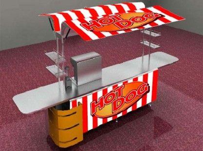Food Cart: Hot Dog X-Line