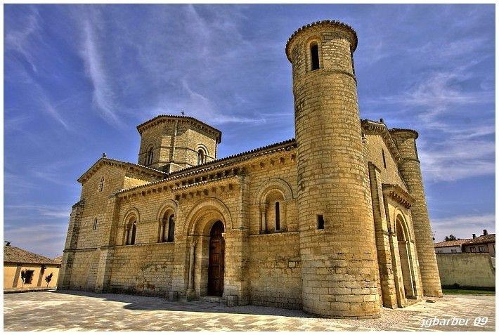 San Martin de Tours Church, Frómista, province of Palencia, Spain.