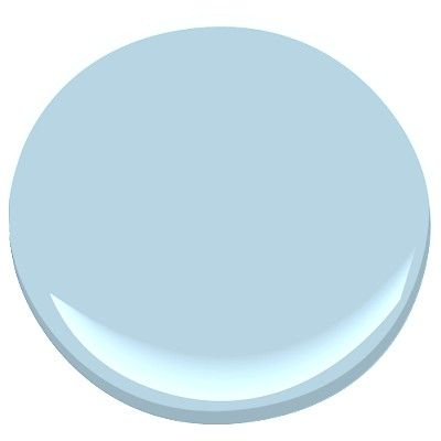 Perfect color for beach bathroom...Mediterranean breeze by Benjamin moore
