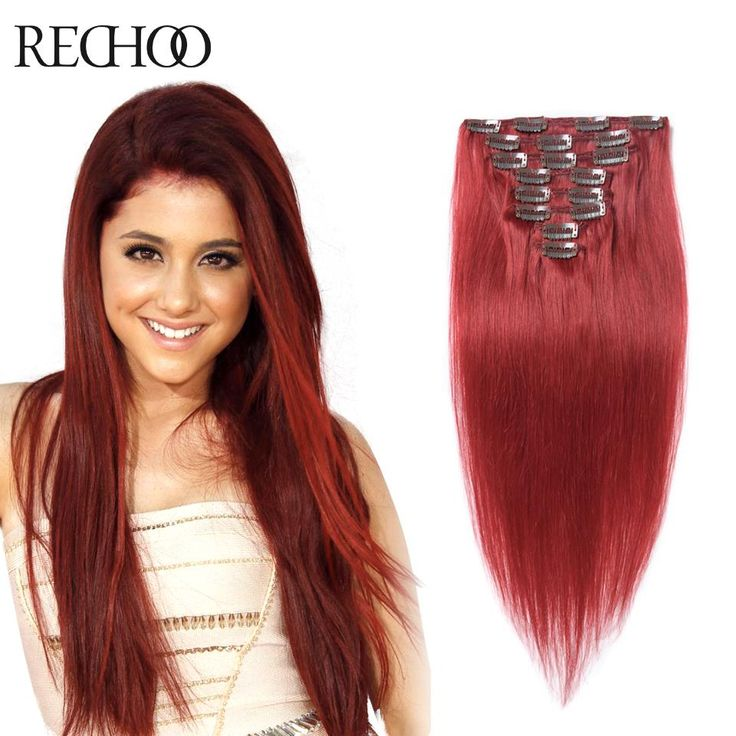 22 best fusion hair extensions images on pinterest tights news 10pcs clip in human hair extensions 100 remy human hair clip ins red european clip pmusecretfo Images