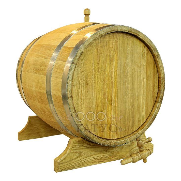 Купите дубовую бочку 50 л по выгодной цене от производителя - компании «Статус» в Москве!