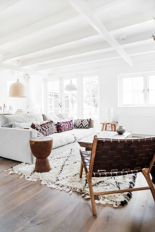 moroccan decor inside home of Danielle de Lange, of the style files. / sfgirlbybay