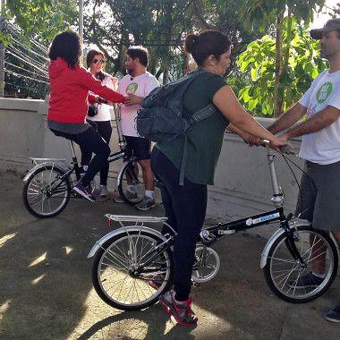 Bike Anjo: rede de voluntários estimula as pessoas a pedalar na cidade com aulas de bike, indicação de melhores rotas e acompanhamento no trânsito