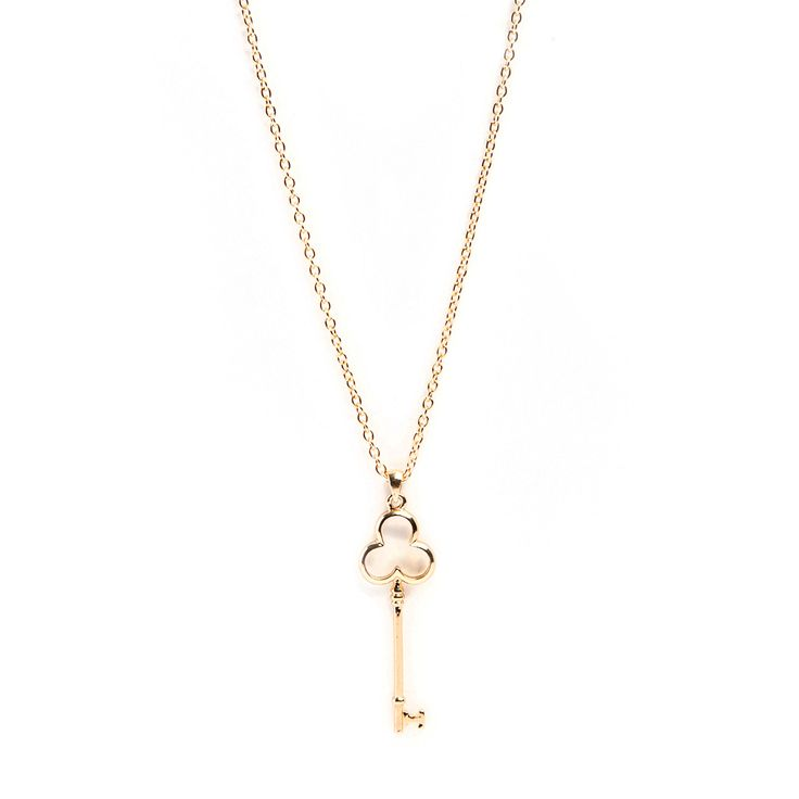 Key Club Necklace by Mayfair Road $14
