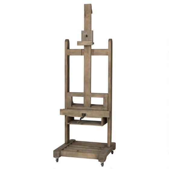 Uptown TV Easel -Faded Pine