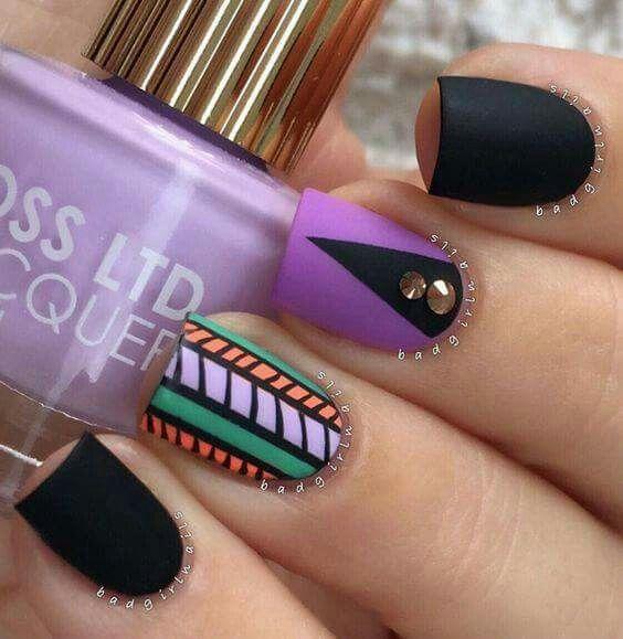 Mejores 318 imágenes de Uñas en Pinterest   Nailart, Arte de uñas y ...