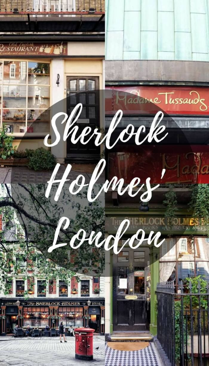Sherlock Holmes in London, England- A guide to finding Sherlock Holmes locations and inspiration around the city.