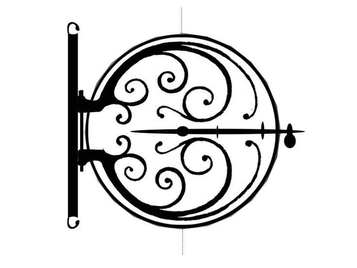 Hobbit Door Drawing Hobbit Door Vinyl Decal