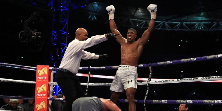 Just like when Anthony Joshua got put on his arse by Wladimir Klitschko in the 6th round of their heavyweight title bout on Saturday. It was the first time Joshua had been dropped in his professional career and he could have been in big trouble. A lesser man would have been. And yet he got back on his feet and lasted another five rounds to win a technical knockout in the eleventh round.  Inspiring stuff.