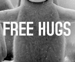 Free hugs anyone?