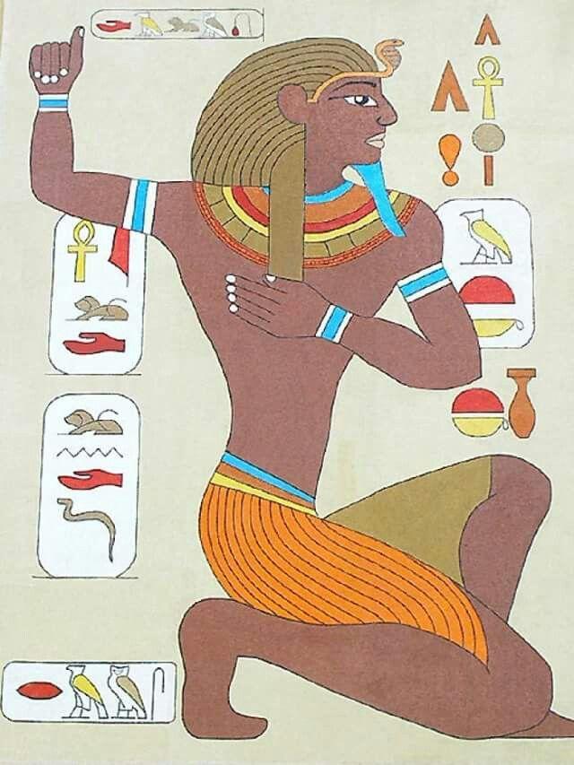 Painel... Egípcio pastilha de vidro!!!