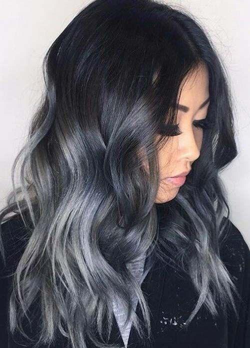 The 25+ best Dark grey hair dye ideas on Pinterest | Dark pastel ...