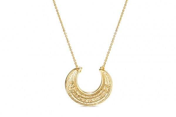 Moon Necklace by Maria Pascual