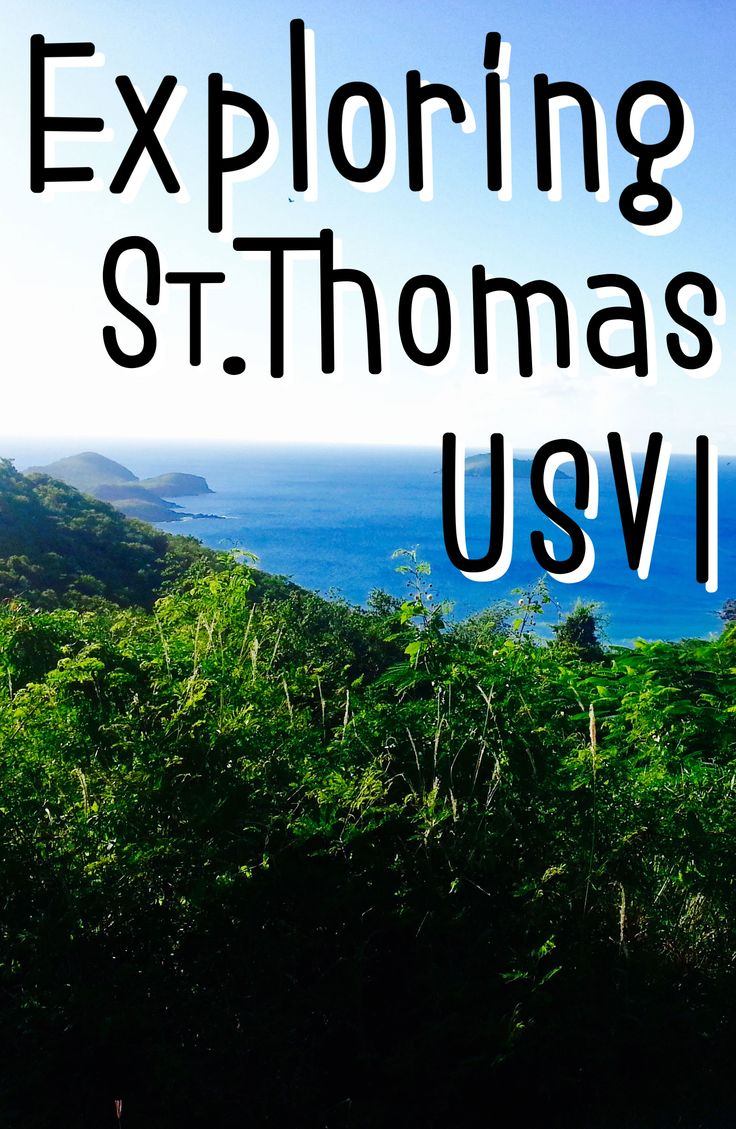 A guide to exploring St Thomas USVI