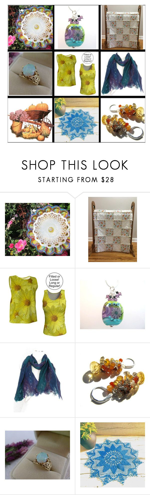 Handcrafted Artisan Gifts by belladonnasjoy on Polyvore featuring modern and vintage