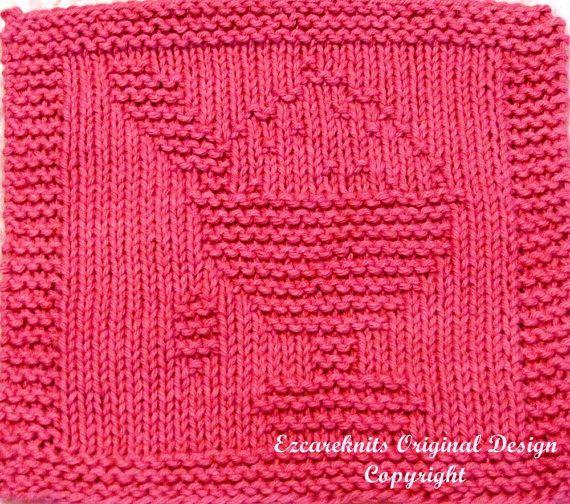 Knitting Cloth Pattern  ICE CREAM SUNDAY  Instant by ezcareknits, $2.85
