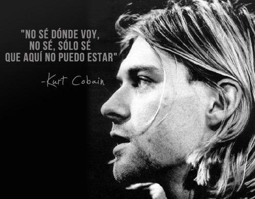 Frases célebres de Kurt Cobain – Frases de Canciones